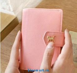 Кожаный чехол для Samsung Galaxy S2