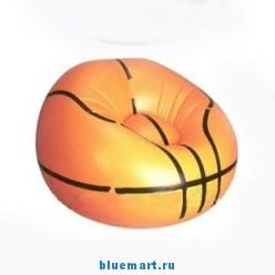 Надувное кресло в виде баскетбольного мяча