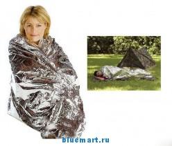 Туристическое термо одеяло