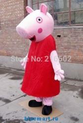 Ростовая кукла свинка Пеппа