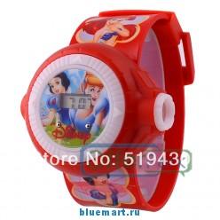 YW00027R - Детские часы с мультяшками