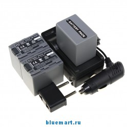 NP-FP90 -3 аккумулятора + зарядное устройство + автомобильное зарядное устройство для Sony NP FP30 FP50 FP60 FP70 FP90