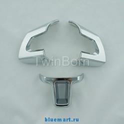 Хромированная отделка руля для Volkswagen Golf/ Jetta/ Polo Mk6, 3шт