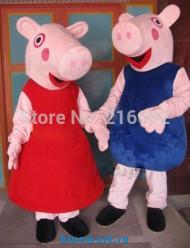 Ростовые куклы свинки Пеппа и Джордж