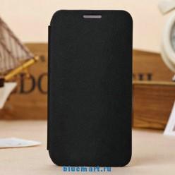 Кожаный чехол для Samsung Galaxy S4 с отделением для пластиковой карты и подставкой