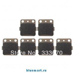Тормозные колодки, 6шт, для Honda TRX, 300, EX, 93-08, EX 400, 1998-2007