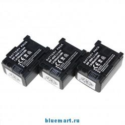 BP-808 - 3 аккумулятора для Canon FS22 FS21 FS200 FS11 FS10