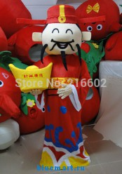 Ростовая кукла Бог счастья