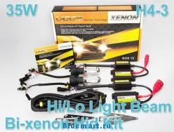 Ксеноновые лампы 35W, H4-3