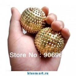 Магнитные мячики для массажа, 2 штуки