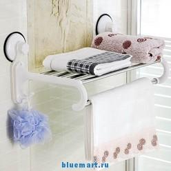Вешалка для полотенец на присосках