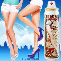 SHILLS BB маскирующий спрей для ног, SPF50