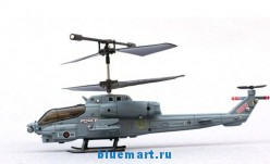 Syma S108G - радиоуправляемый вертолет с гироскопом и ИК-пультом, 22  см