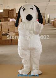 Ростовая кукла белая собака