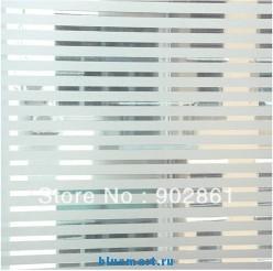 Стикер на стекла в виде полосок