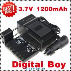 NB-3L - 3 аккумулятора + зарядное устройство + зарядка для авто, для Canon Power shot S30 40 45