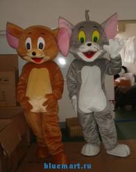 Ростовые куклы Том и Джерри