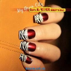 Набор акриловых накладных ногтей (24 шт.)