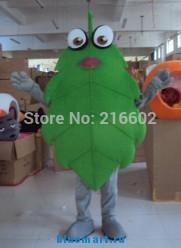 Ростовая кукла зеленый листик