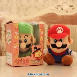 Плюшевая игрушка-повторюшка Super Mario