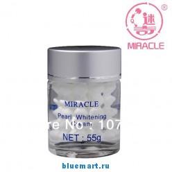 Жемчужный отбеливающий крем для лица Miracle, 55г