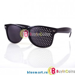 Перфорационные очки для улучшения зрения