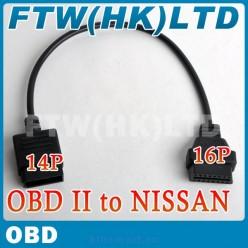 Автомобильный диагностический датчик для сканера, OBD2, Nissan