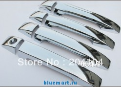 Хромированные АВС накладки на дверные ручки для Subaru Forester 2009-2012