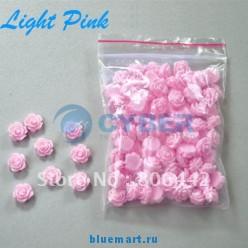 Стикеры для ногтей в виде цветочков (100 шт.)