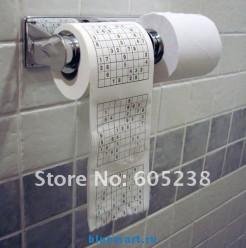 Туалетная бумага, 4шт, с судоку