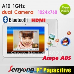 Ampe A85 Deluxe - планшетный компьютер, Android 4.0.3, 8