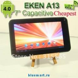 EKEN A13 - планшетный компьютер, Android 4.0.3, TFT LCD 7