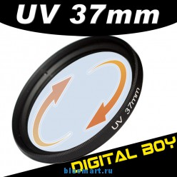 УФ фильтр 37 мм для Canon; Nikon; Sony; Olympus