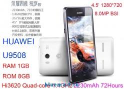 Huawei U9508 Honor 2  - смартфон, Android 4.1.2, Hisilicon Hi3620 Quad Core (4x1.4GHz), HD 4.5