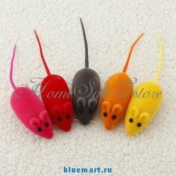 Игрушечная мышь для кота, 5шт