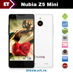 Nubia Z5 Mini - Смартфон, Android 4.2, Snapdragon APQ8064 1.5GHz, 4.7