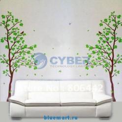 Наклейки на стену Деревья
