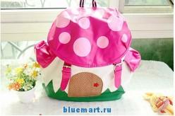Детский школьный рюкзак клубничка