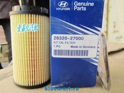 Масляный фильтр для Hyundai Santa Fe дизель 2.0