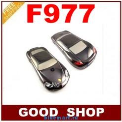F977 - мобильный телефон, 2 SIM-карты, Bluetooth, МР3, FM, 1.3MP камера