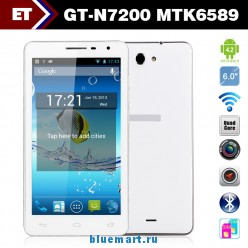 GT N7200 - смартфон, Android 4.2, MTK6589 Quad Core 1.2GHz, 6.0