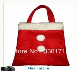 Новогодняя сумка для подарков, 21 х 30 см, 10шт