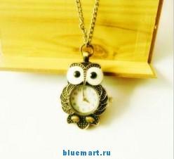 SB028 - Карманные часы Сова
