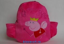 Плюшевый рюкзак Свинка Пеппа