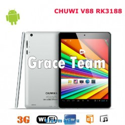 Chuwi V88 - планшетный компьютер, Android 4.1, Rockchip RK3188 Cortex A9 Quad Core 1.8Ghz. 7.85