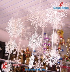 Новогодняя трехмерная декорация Снежинки