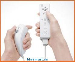 GAME-032T - беспроводной джойстик (Wii Remote + Нунчак) для Wii