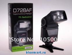 SpeedLite D728AF - вспышка для Canon 50D/40D/60D/600D/550D/500D