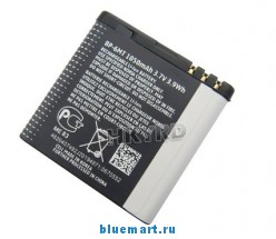 BP-6MT - аккумулятор на 1050mAh для Nokia E51/N82/N81/6720C