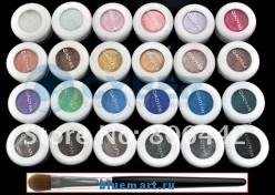 Рассыпчатые тени для век 24 цвета